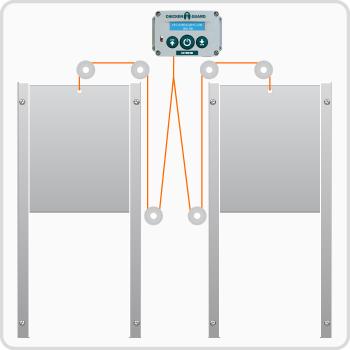 kippendeur-opener-montage