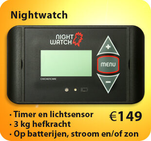 Nightwatch-kippendeur-opener