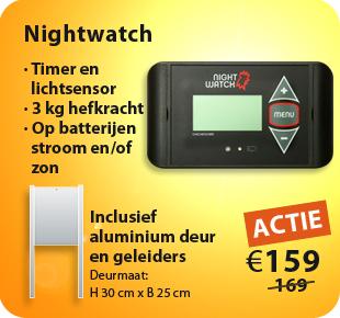 nightwatch automatische-kippenhok-opener