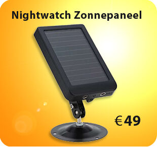 Nightwatch zonnepaneel