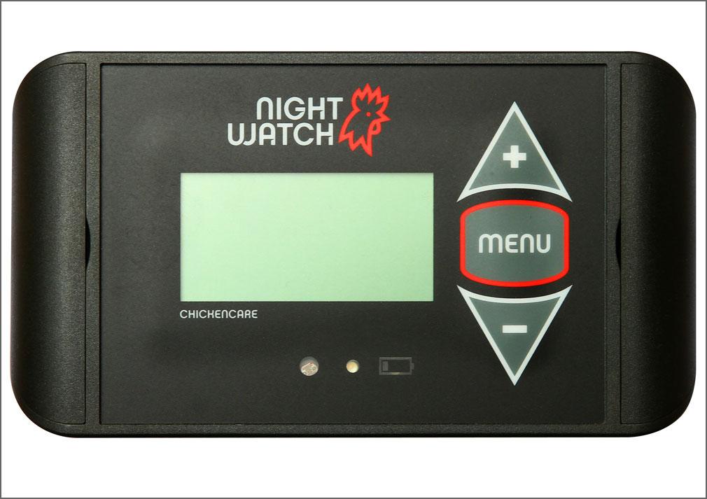 Nightwatch-kippenluik-opener